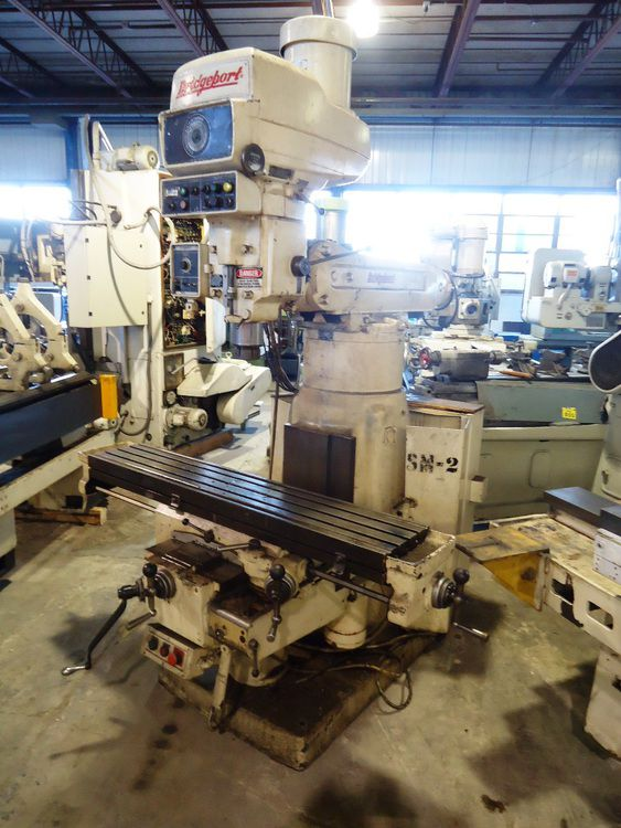 Bridgeport Series II Vertical Mill Max. 3500 rpm