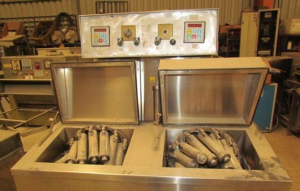 Roaches 16x2 tubulars inrdared dyeing machine
