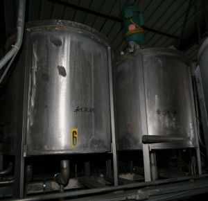 Others Single Shell Stainless Steel Tank 158 Gallon