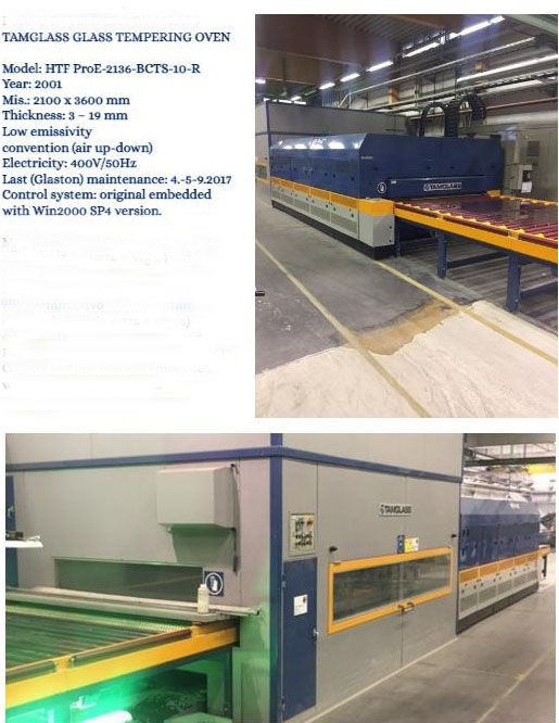 2 Others Tamglass ovens