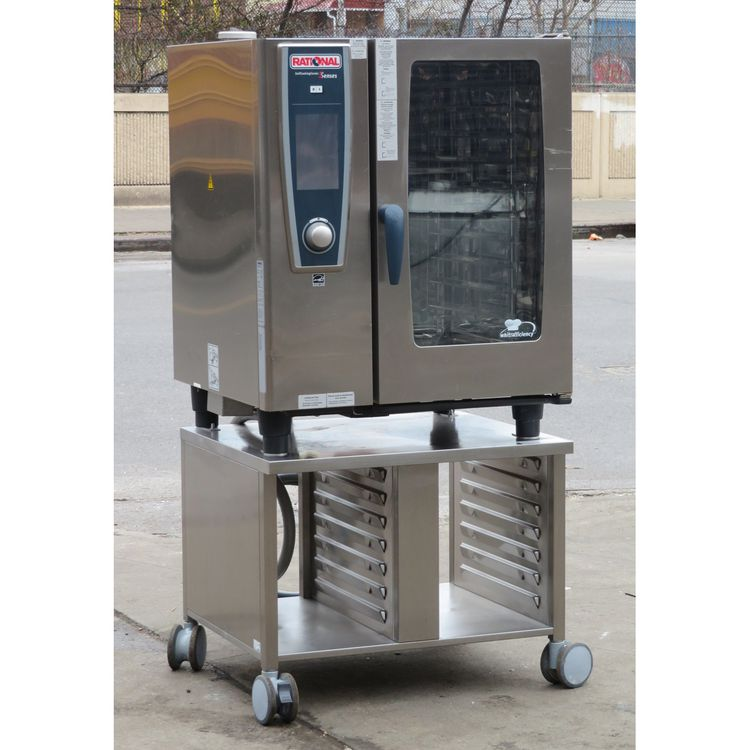 Rational SCCWE101 Combi Oven on Stand
