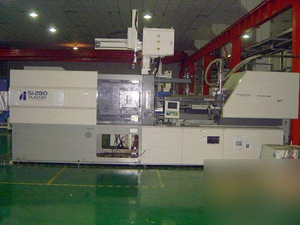 Toyo SI280, INJECTION MOLD MACHINE