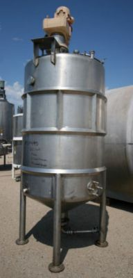 Others Cone Bottom Single Shell Stainless Steel Tank