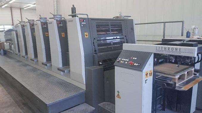 Komori LS529+CX 20 x 29 inch