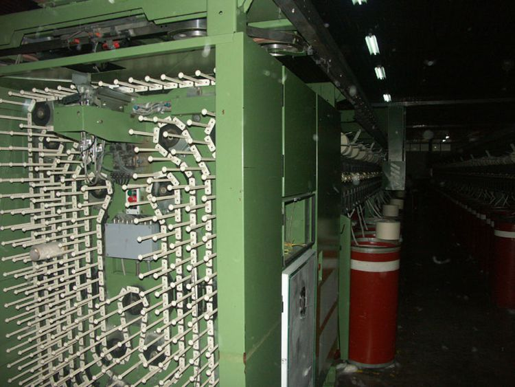 2 Rieter RI-4824 Rieter Open End Spinning Machines