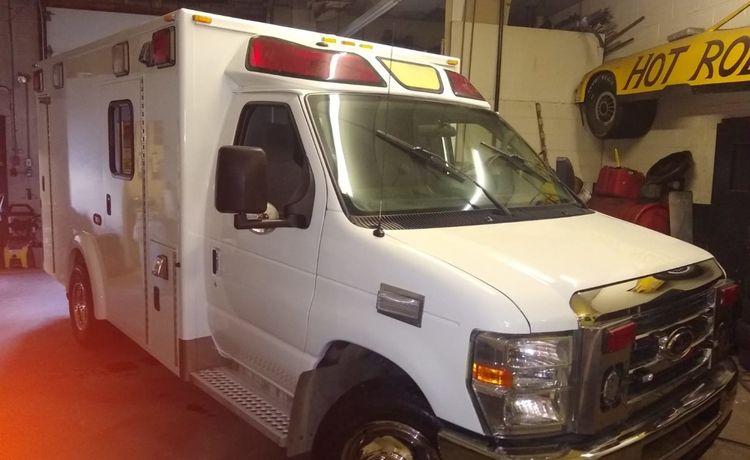 Ford Gasoline Ambulance