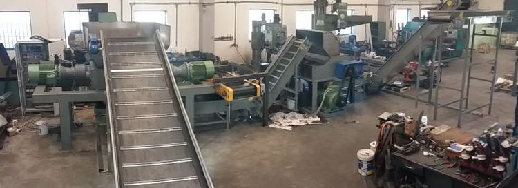 CAR TYRE RECYCLING PLANT - NEW