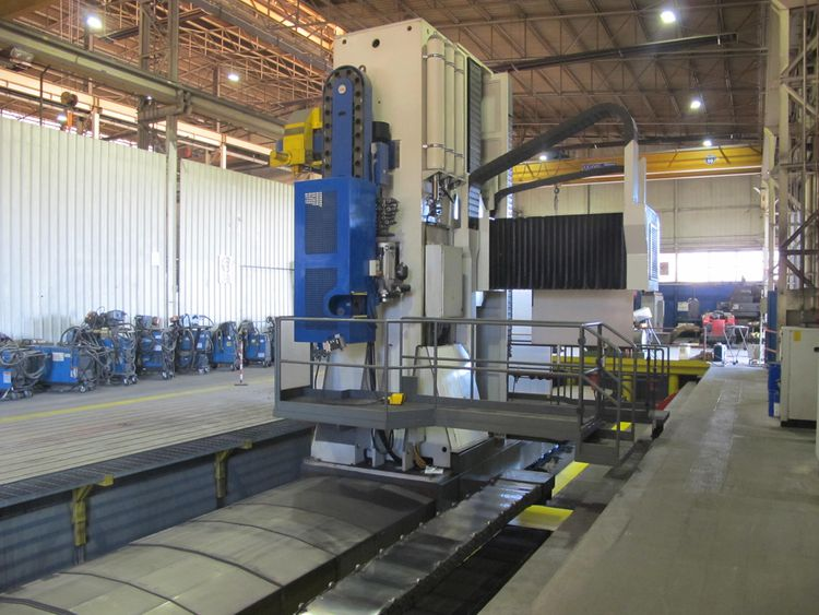 Troostwijk Auction of heavy duty metalworking machines from the bankruptcy of F.T. Costruzioni Srl