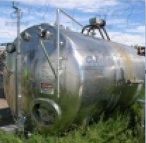 Chicago Stainless Horizontal Tank 3,000 Gallon