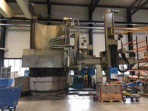 Berthiez TFM 250 SP (diameter 2,800 x 3,200 mm) Vertical turret borer double column