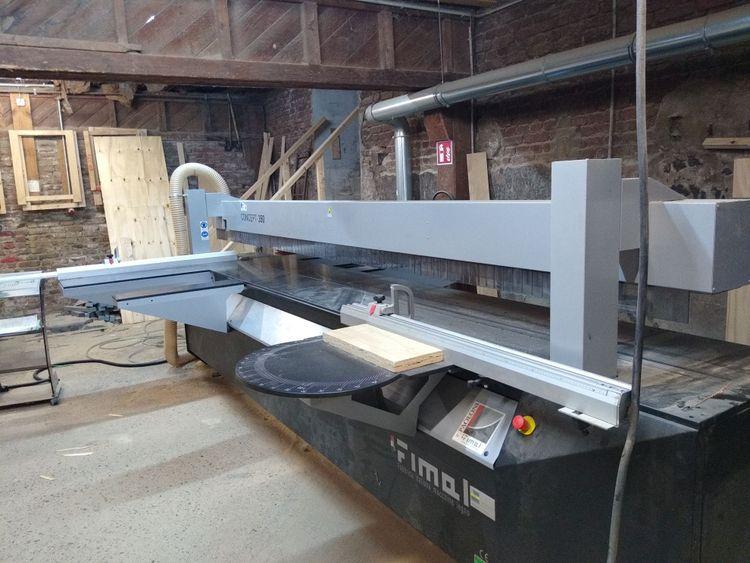 Fimal Concept 350, Pressure beam sliding table saw