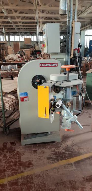 Camam LEC 200/AVS, ORBITAL SANDER WITH FEEDING UNITS FOR CONIC ELEMENTS