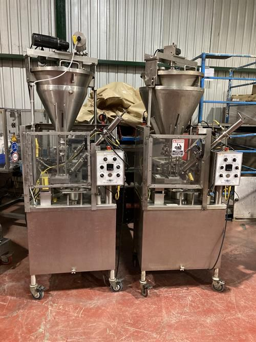 World Cup 8-32 rotary cup filler and sealer
