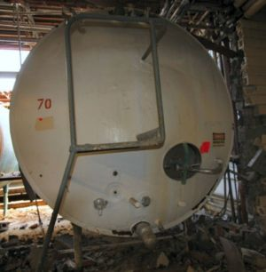 Others Horizontal Stainless Steel Insulated Storage Tank