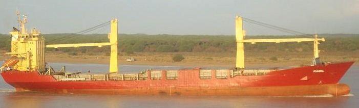 Dorbyl Geared Single Deck General Cargo 11816 DWT On 8.26M Draft