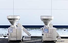 Handtmann VF 630 vacuum filling machine