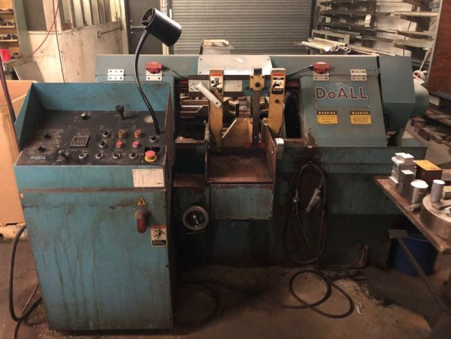 DoAll C-305A Horizontal Band Saw Automatic