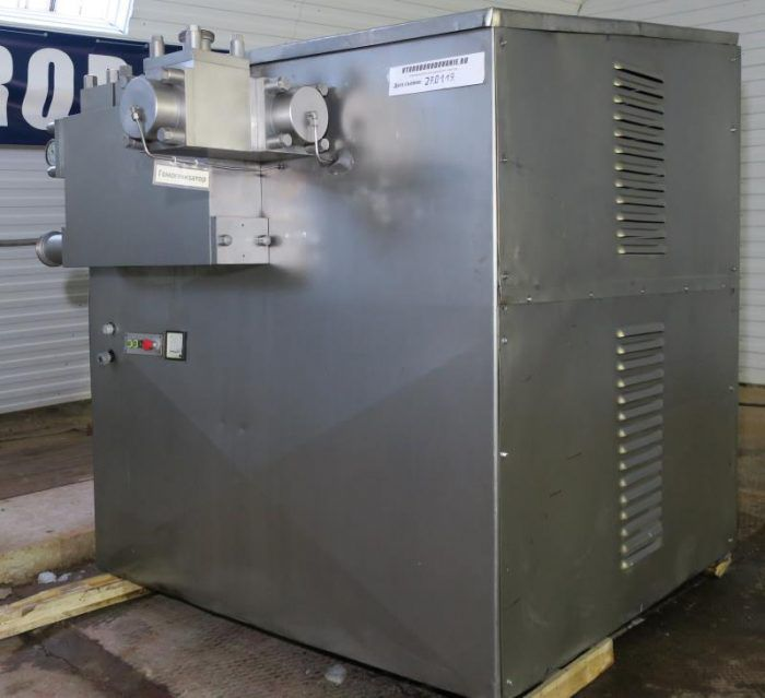 Alfa Laval SHL 40 piston homogenizer