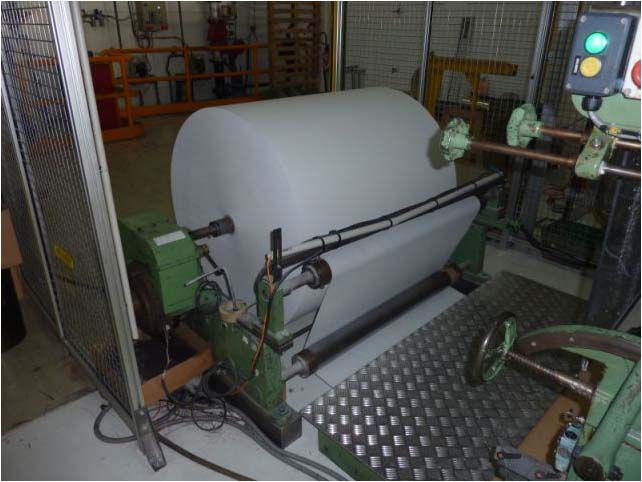 Kroenert PACK 515, Wax Coating Machine