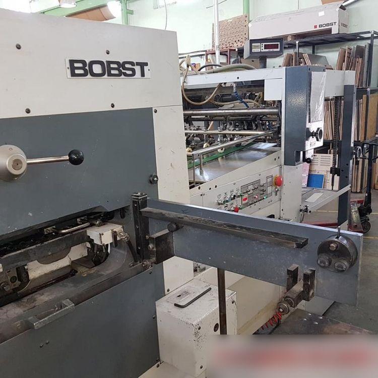 Bobst SP 102 E, AUTOMATIC DIE CUTTING MACHINE