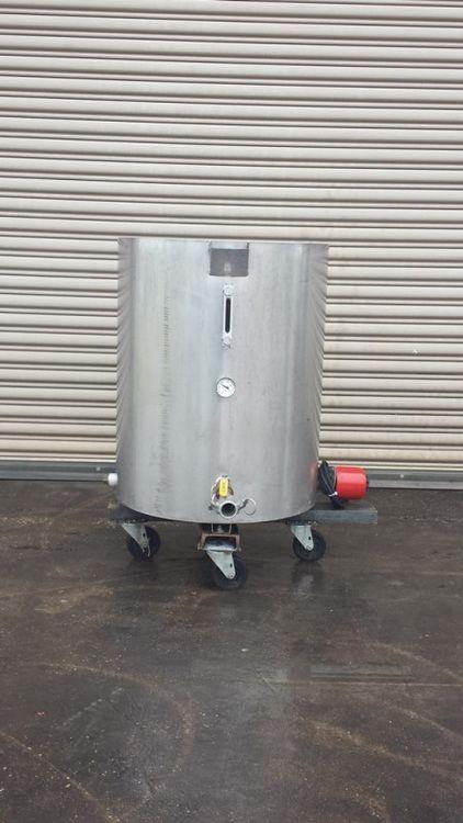 Mueller 40 Gallon SS Heated Tank