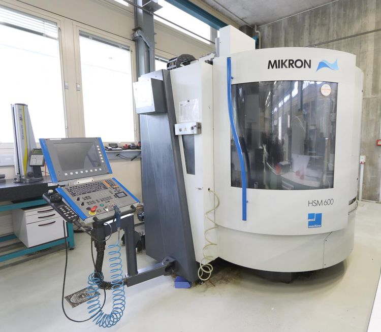 Mikron HSM 600 3 Axis
