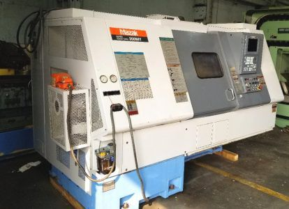Mazak Mazak Mazatrol 640T Cnc Control 4500 rpm SQT-200 MY Cnc Turning Center With Milling And Y-Axis