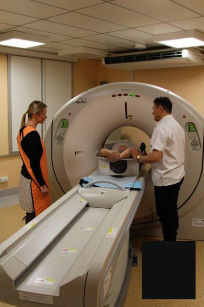 Toshiba Aquilion CT scanner TSX-101A