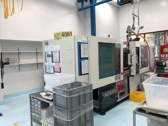 Ferromatik, Milacron K110D-S, Injection Molding Machine 123 Ton
