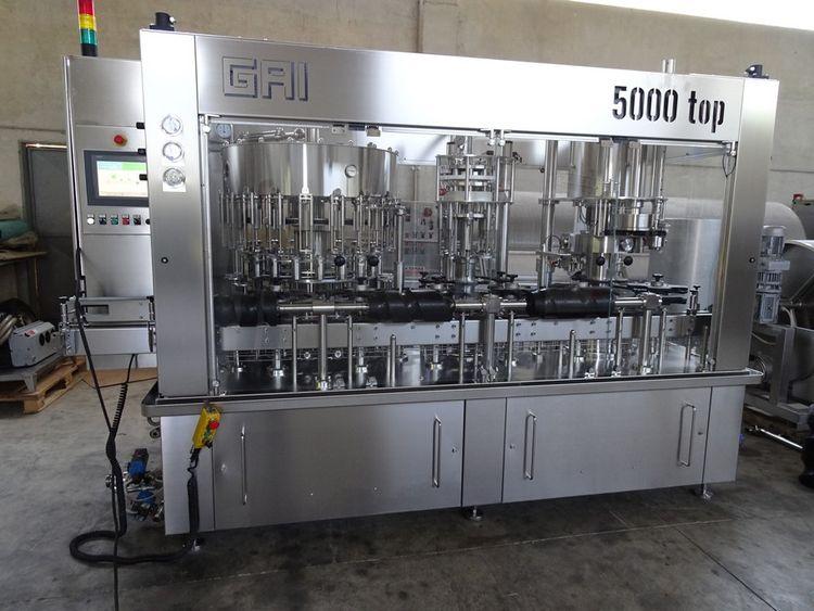 GAI 5000T, 20/4/4 Filler Monoblock