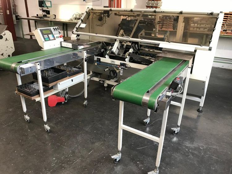 Corta, Durselen PB 09 ST, Paper Drilling Machine