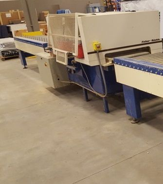 Fisher Ruckle GLUEMASTER Double gluing machine for sheet metal pack