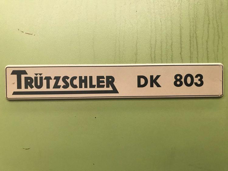 4 Trützschler DK 803 Trützschler Cards  Model  DK 803