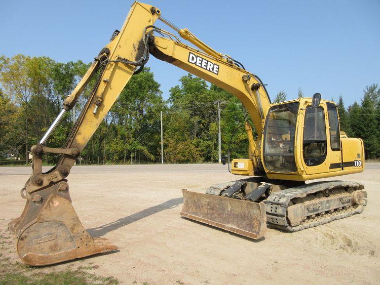John Deere 110 Crawler Excavator