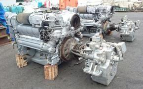 2 MTU 8V2000M93 Marine Engine