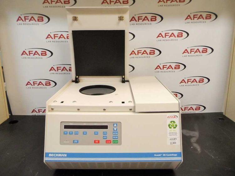 Beckman Avanti 30, Benchtop Refrigerated Centrifuge