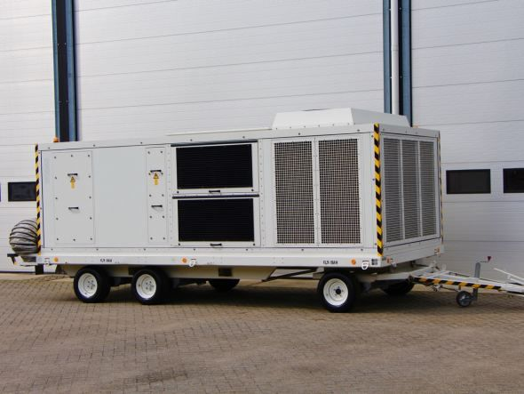 Weiss Technik Electric powered, Airconditioning and Heating Unit