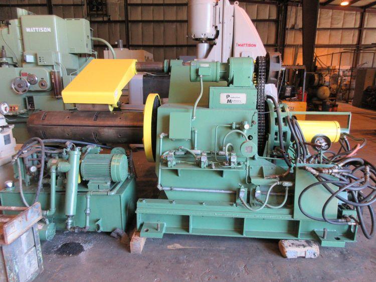 Production Machine MOTORIZED UNCOILER 439-150 20,000 LB