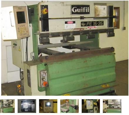 Guifil PE 15-35, CNC Hydraulic Press Brake Max. 38 US  Tons