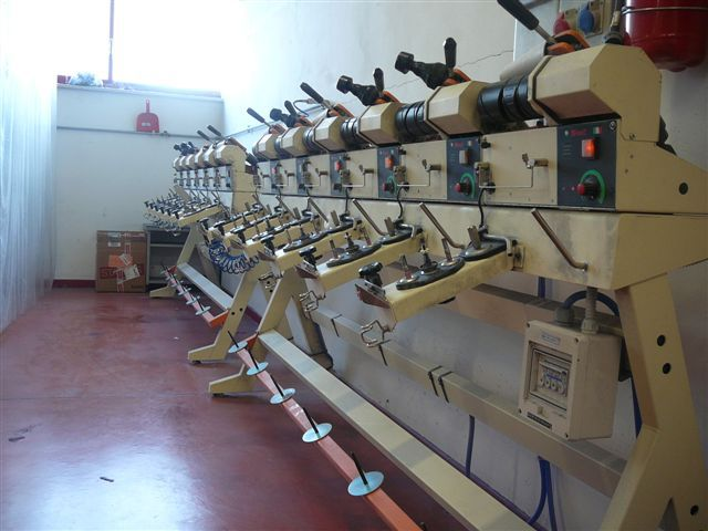 2 Simet Electronic Cone to Cone Winder