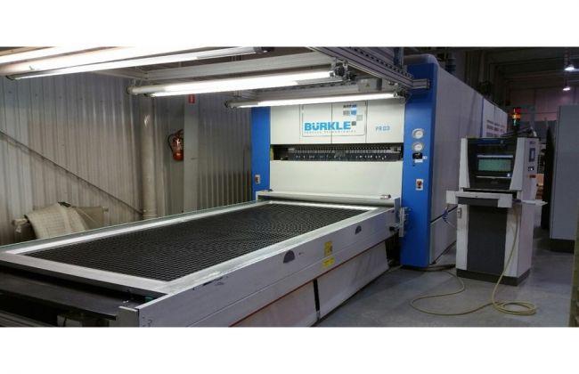 Burkle BTF 1534-1400, Membrane press