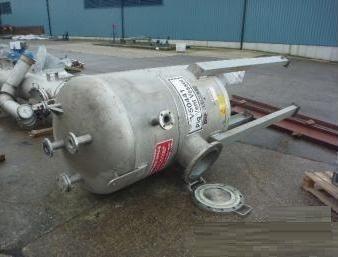 2 Ardeth 1,280 Litre Stainless Steel Pressure Vessel