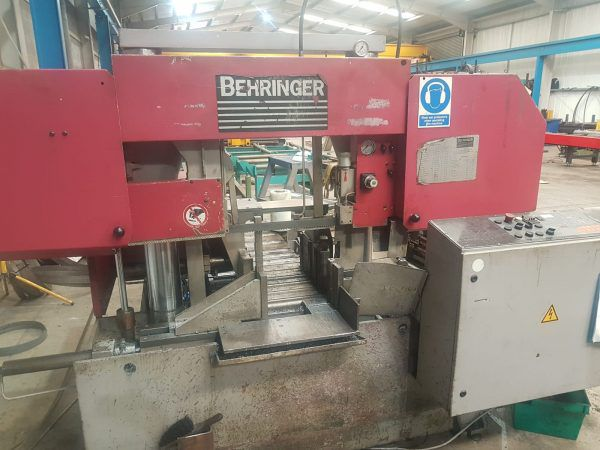 Behringher HBP 360 A Bandsaw Fully Automatic