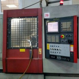 Angelini system FANUC 21 iTB Variable OSCAR 320/600 CNC 5 Axis