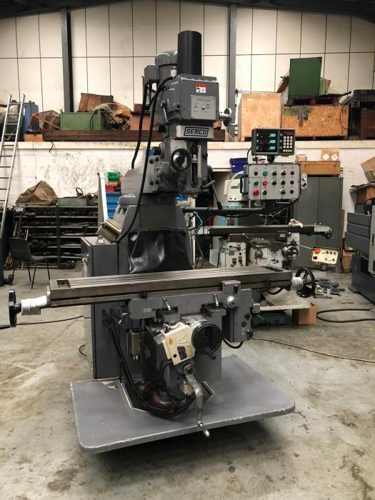 Semco LC 20 V SG Turret Milling Machine Variable