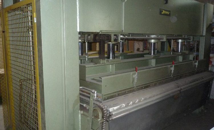 Joos DLP 140 / OK, Throughfeed press