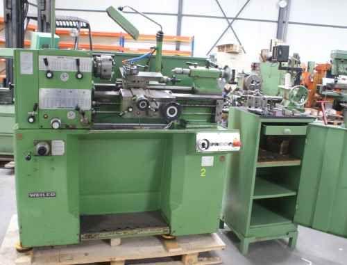 Weiler Engine Lathe Max. 3550 rpm Ergodor