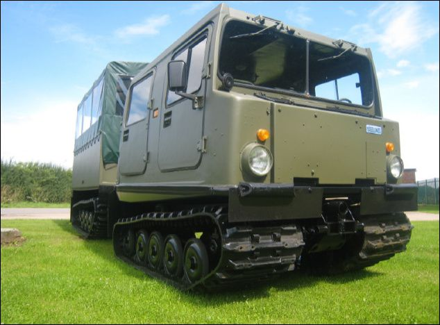 2 Hagglunds BV206 Shoot Vehicle