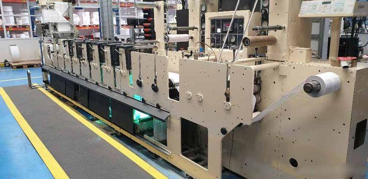 Mark Andy 2200-10E, Self Adhesive Flexo Label Press