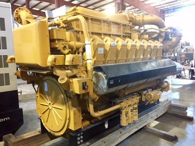Caterpillar G3516E Diesel Marine Engine